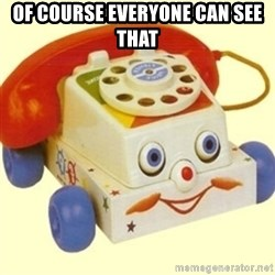 Sinister Phone - OF COURSE EVERYONE CAN SEE THAT