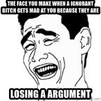 Yao Ming Meme - The face you make when a ignorant bitch gets mad at you because they are losing a argument