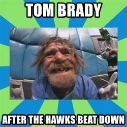 hurting henry - Tom Brady After the Hawks Beat Down