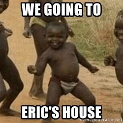 Little Black Kid - we going to eric's house