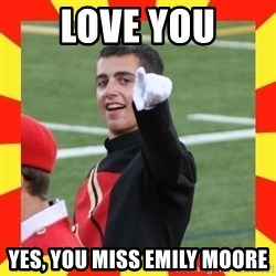 lovett - Love you Yes, You Miss Emily Moore