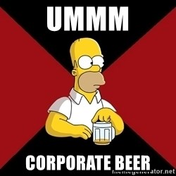 Homer Jay Simpson - UMMM CORPORATE BEER