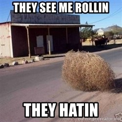 Tumbleweed - They see me rollin they hatin