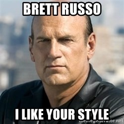 Jesse Ventura - Brett Russo I like your style