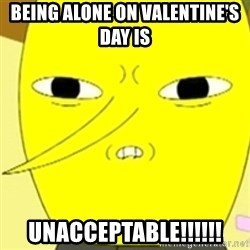 LEMONGRAB - Being Alone On Valentine's Day Is UNACCEPTABLE!!!!!!