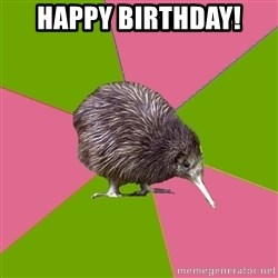Choir Kiwi - Happy Birthday!