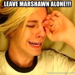 leave britney alone - LEAVE MARSHAWN ALONE!!!