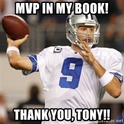 Tonyromo - MVP in my book!  Thank You, Tony!!