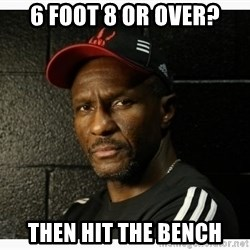 Dwane Casey's Guide to Smallball - 6 foot 8 or over? then hit the bench