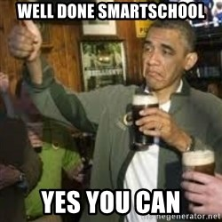 obama beer - Well done Smartschool Yes You can