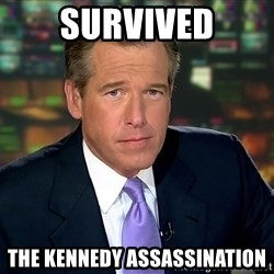 Brian Williams War Stories  - survived the kennedy assassination