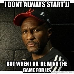Dwane Casey's Guide to Smallball - I DONT ALWAYS START JJ BUT WHEN I DO, HE WINS THE GAME FOR US