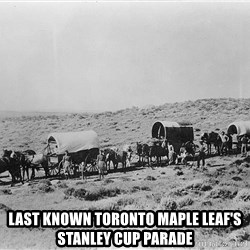 Last known Toronto Maple Leafs Stanley Cup Parade -  Last known Toronto Maple leaf's Stanley Cup parade