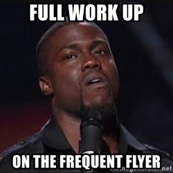 Kevin Hart Face - full work up on the frequent flyer