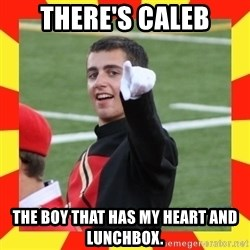 lovett - There's Caleb the boy that has my heart and lunchbox.