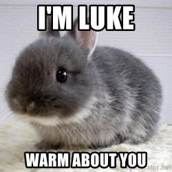 ADHD Bunny - I'M LUKE WARM ABOUT YOU