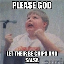 The Fotographing Fat Kid  - Please God Let their be chips and salsa