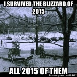 UVIC SNOWDAY - I survived the blizzard of 2015 All 2015 of them