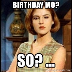 Angelica Santibañez - birthday mo? So? ...