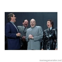 Dr. Evil Laughing -
