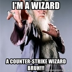 Dumbledore - I'm A wizard A Counter-Strike Wizard BRUH!!!