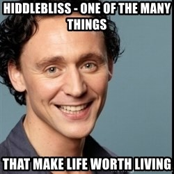 Nice Guy Tom Hiddleston - Hiddlebliss - one of the many things that make life worth living