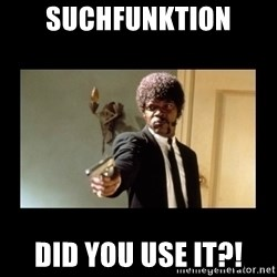 ENGLISH DO YOU SPEAK IT - SUCHFUNKTION DID YOU USE IT?!