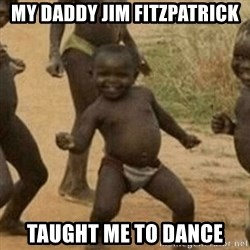 Little Black Kid - My daddy Jim Fitzpatrick Taught me to dance