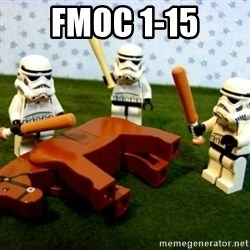 Storm troopers beating dead horse - FMOC 1-15