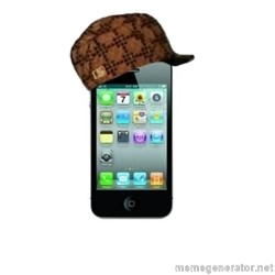 Scumbag iPhone 4 -