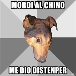 Depression Dog - mordi al chino me dio distenper