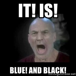 Picard lights - It! is! blue! and black!