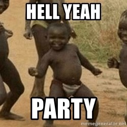 Little Black Kid - hell yeah party