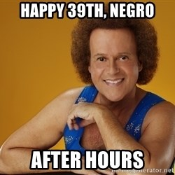 Gay Richard Simmons - Happy 39th, Negro After hours