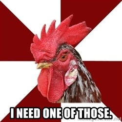Roleplaying Rooster -  I need one of those.