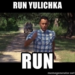run forest - run yulichka run