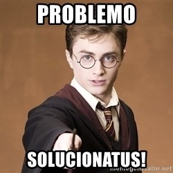 Harry Potter spell - Problemo solucionatus!