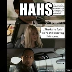 The Rock Driving Meme - hahs