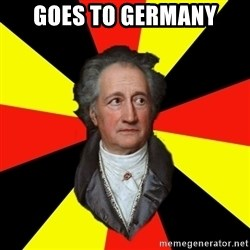 Germany pls - goes to germany