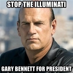 Jesse Ventura - Stop the Illuminati Gary Bennett for President