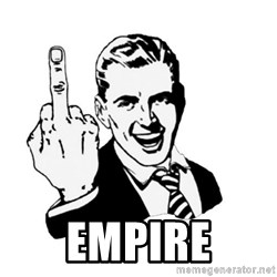 middle finger -  empire