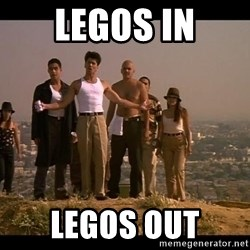 Blood in blood out - legos in legos out