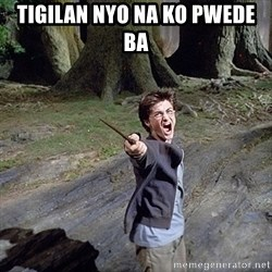 Pissed off Harry - tigilan nyo na ko pwede ba