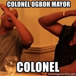kanye west jay z laughing -  colonel ogboh mayor colonel