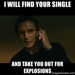 liam neeson taken - I will find your single and take you out for explosions