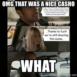 The Rock Driving Meme - OMG that was a nice casho what