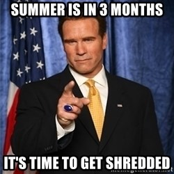 arnold schwarzenegger - Summer is in 3 months It's Time to Get shredded