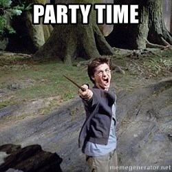 Pissed off Harry - party time