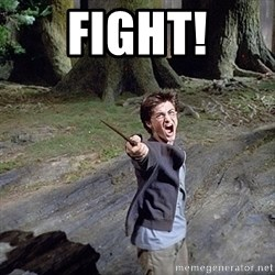 Pissed off Harry - fight!