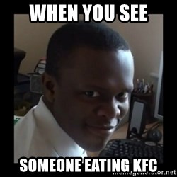 KSI RAPE  FACE - when you see someone eating kfc